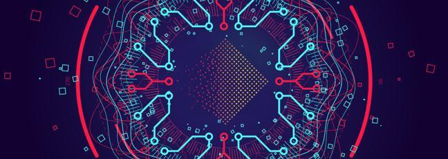 Complex data threads graphic visualisation