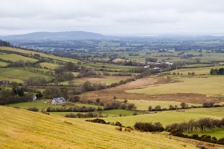 The rolling countryside of Co. Meath