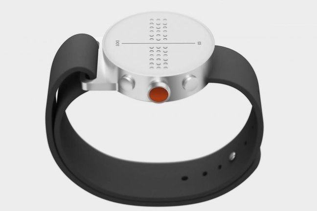 First Braille Smartwatch : Dot