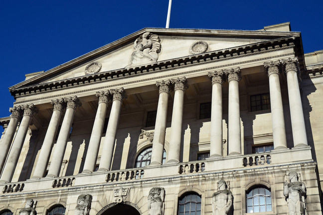 Exterior of Bank of England