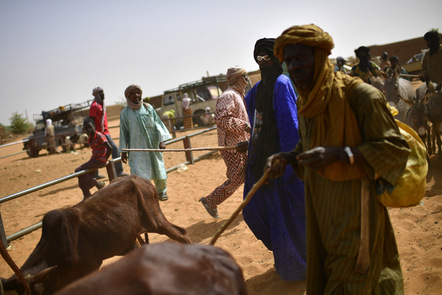 UN Troops Assist Malian Government In Fighting Rebels.
