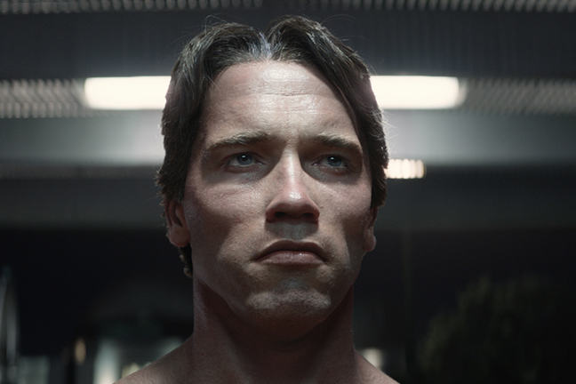 Arnie in Terminator Genisys (2015)