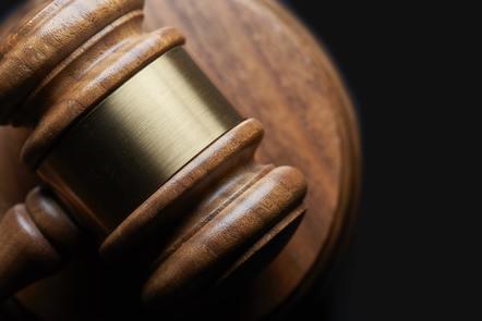 Photo of judges gavel