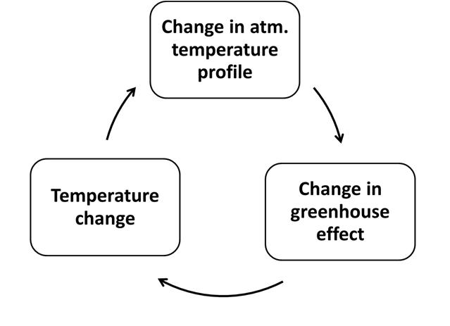 Circle diagram of laps rate feedbacks.