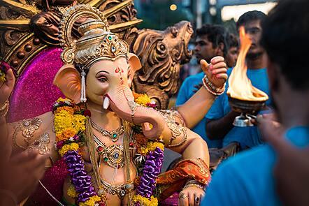 Image representing Hinduism symbols