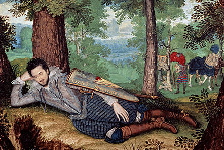 Edward Herbert, 1st Baron Herbert of Cherbury 1610-1614 by Isaac Oliver copyright Bridgeman Art Library / Universal Images Group
