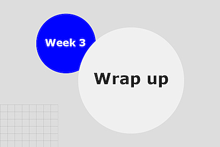 Week 3 wrap-up