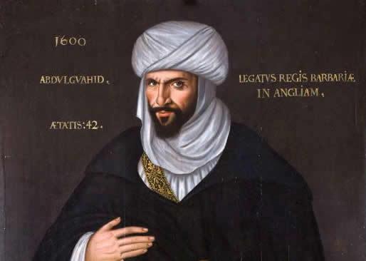 Moorish Ambassador Elizabeth I Abd el-Ouahed ben Messaoud.