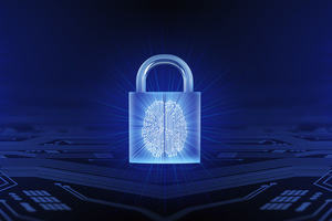 Cyber Security Padlock. From iStock photo.