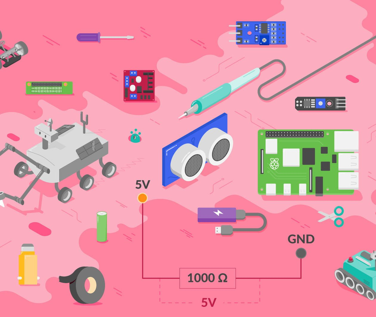 Robotics With Raspberry Pi: Build and Program Your First Robot Buggy