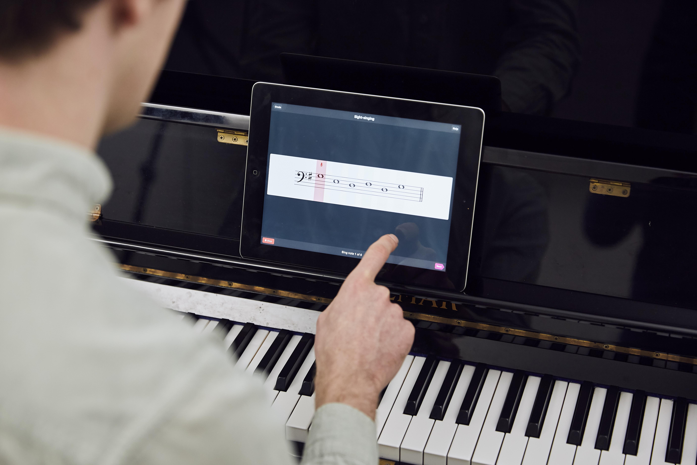 notation on an iPad