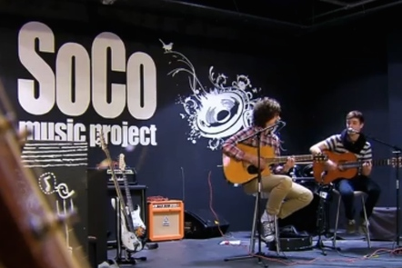 Musicians at the SoCo music project
