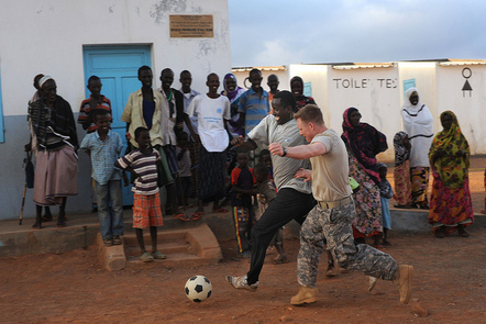 Can football be a resource of hope in places experiencing conflict ?