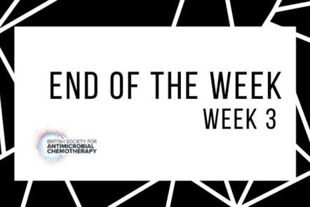 End of the week - week 3