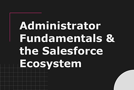 Administrator Fundamentals and the Salesforce Ecosystem
