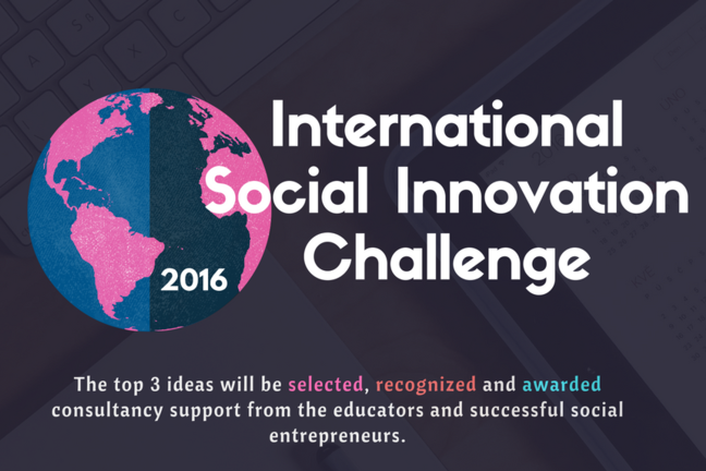 International Social Innovation Challenge: Competition guidelines