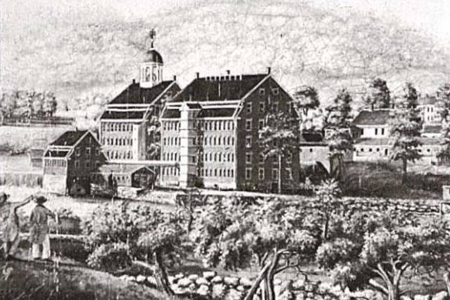 Boston Manufacturing Company between 1813 and 1816