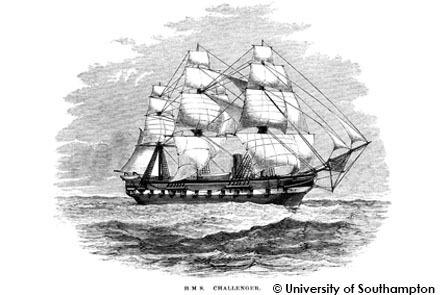 HMS Challenger © University of Southampton, 2014