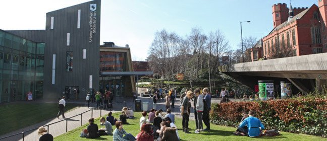 The University of Sheffield students