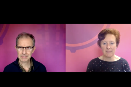 A screenshot from the introduction video from Matthew and Mary