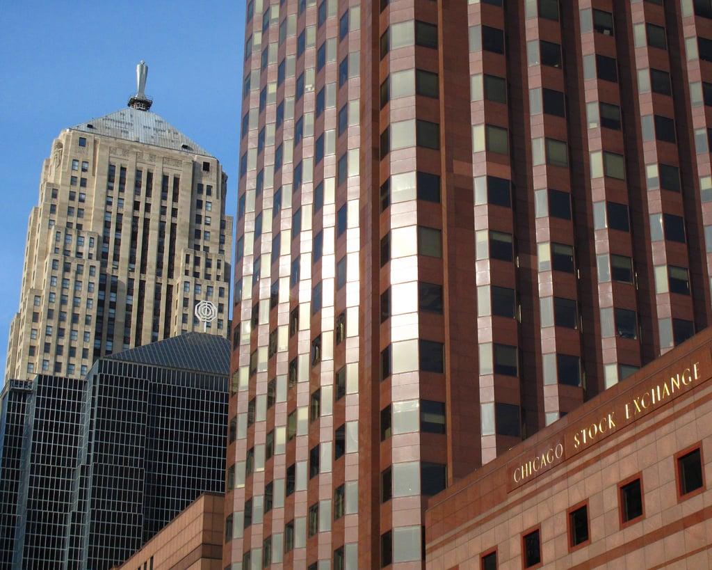 Exterior of Chicago Mercantile Exchange