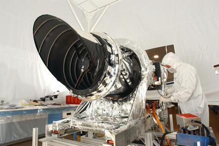 Photo of Telescopic Camera for Mars Reconnaissance Orbiter