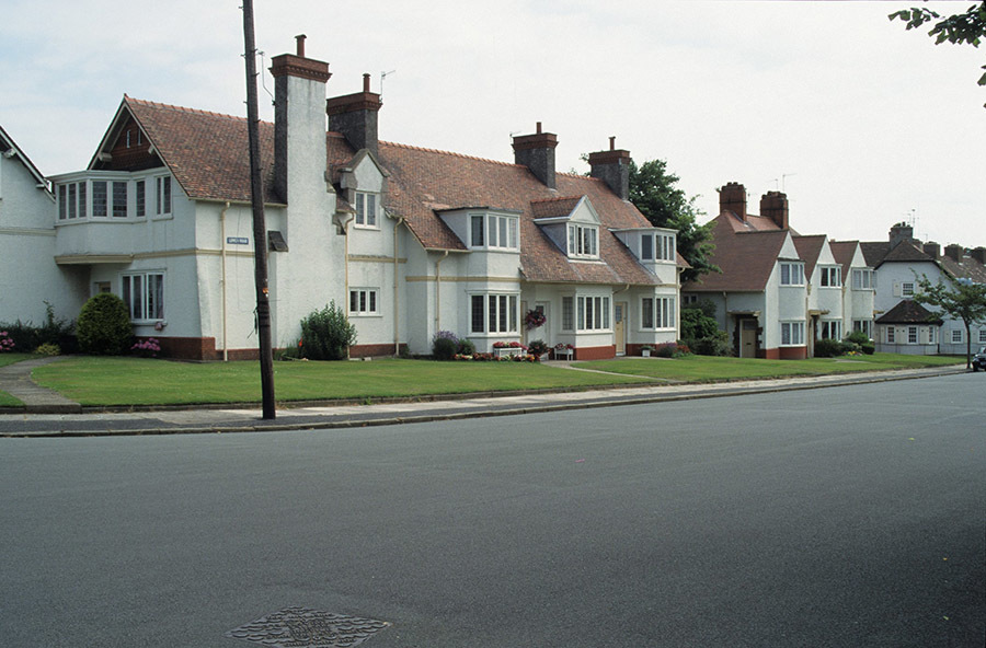 Workers' housing at Port Sunlight, outside Liverpool