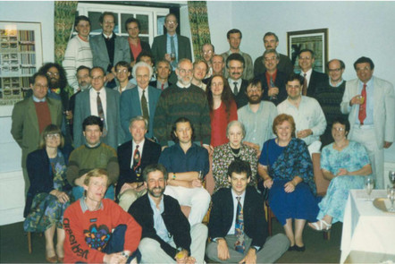 The IFIP Haskell working group in 1992