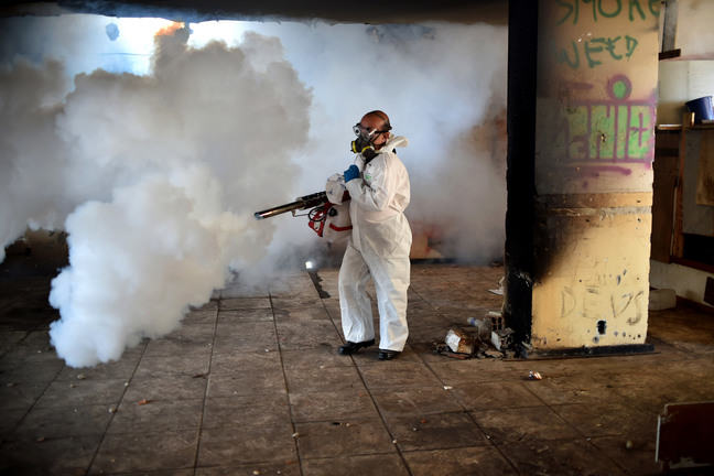 Image of fogging/spraying