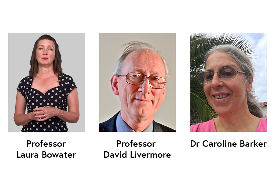 Images of the teaching team