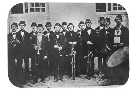 Railway Workers Band – Swindon Works c1860s.