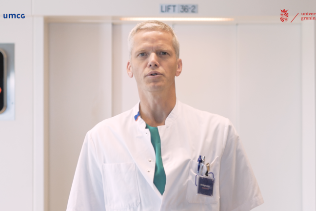 Dr Michiel Wagemakers, the neurosurgeon