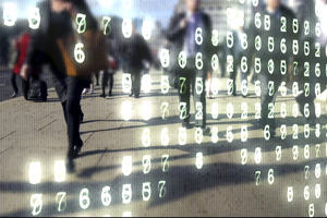 Learn to Code for Data Analysis course image - a graphic showing binary and numeric data