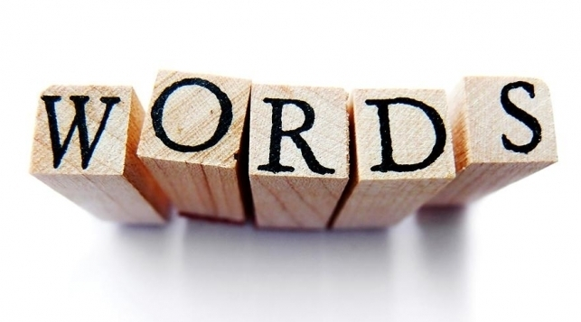 Image saying words