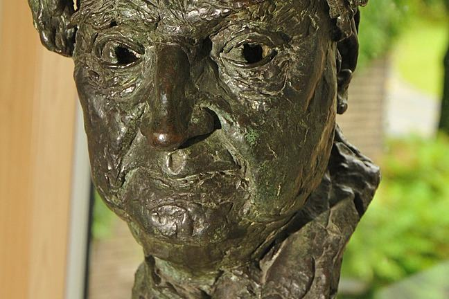 A photograph of 'Bust of Ralph Vaughan Williams' by the sculptor, Jacob Epstein