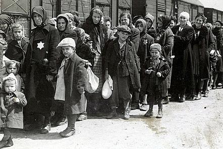 Jewish Deportees Arriving at Auschwitz-Birkenau, 1944