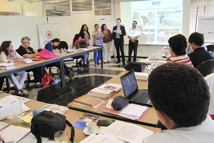 Seminar on Restoring Family Links (RFL) organized by the ICRC regional delegation (ICRC photo)