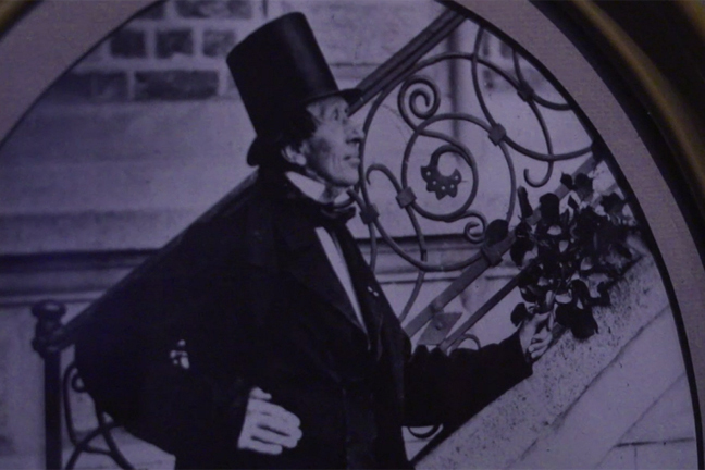 An image showing Hans Christian Andersen