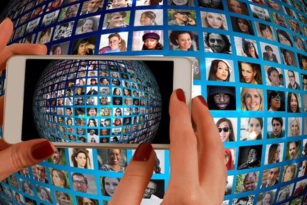 Global, smartphone, hand, photo
