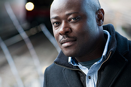 Portrait of author Helon Habila by Heike Steinweg