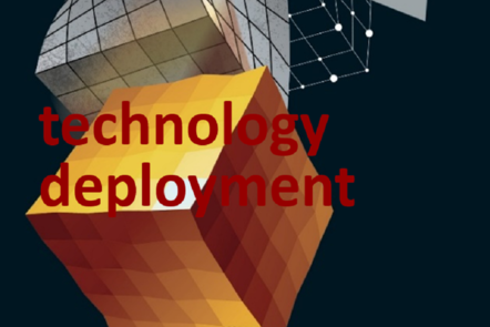 "Part of Scale-up Manual front cover image with the word ""technology deployment""."