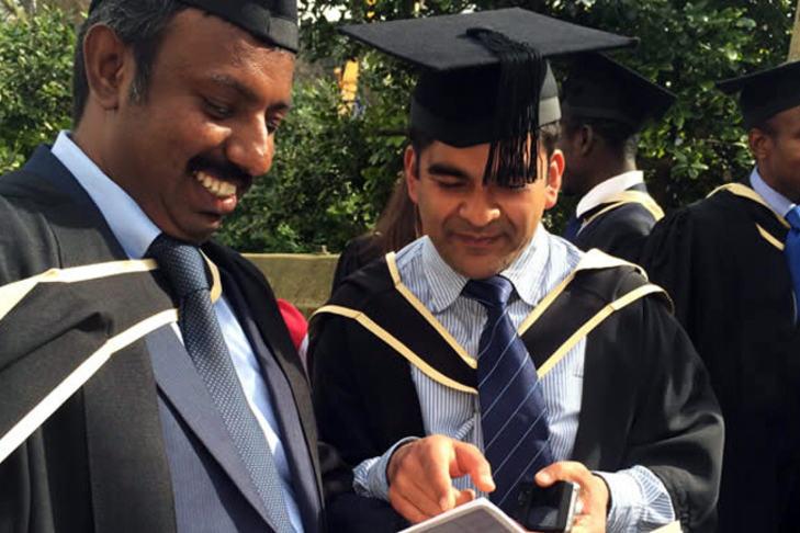 Journée de remise des diplômes