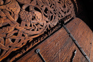 The portal at Torpo Stave Church