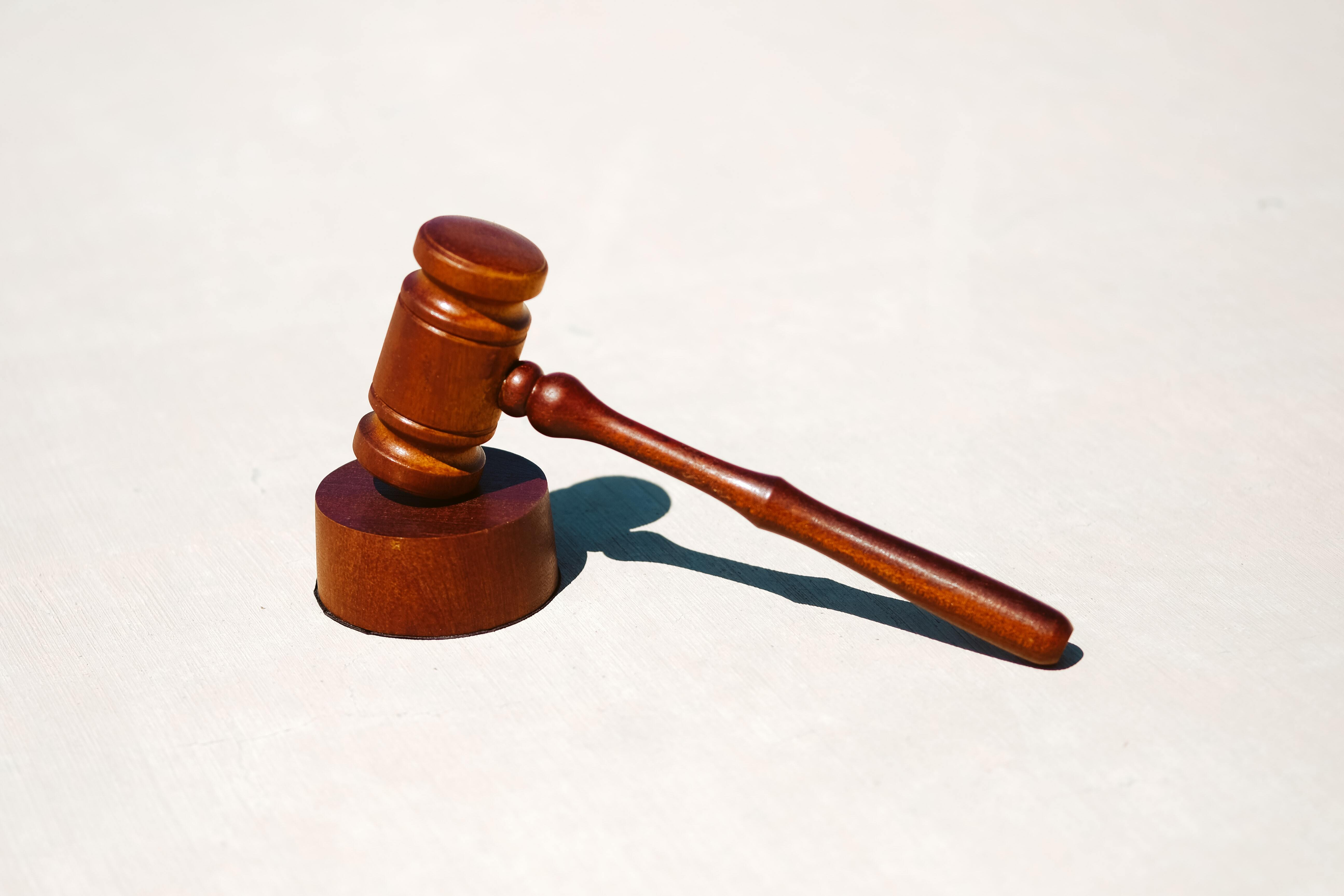 a hammer and gavel
