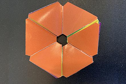 A hexa-hexa-flexagon