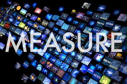 Measure graphic title card