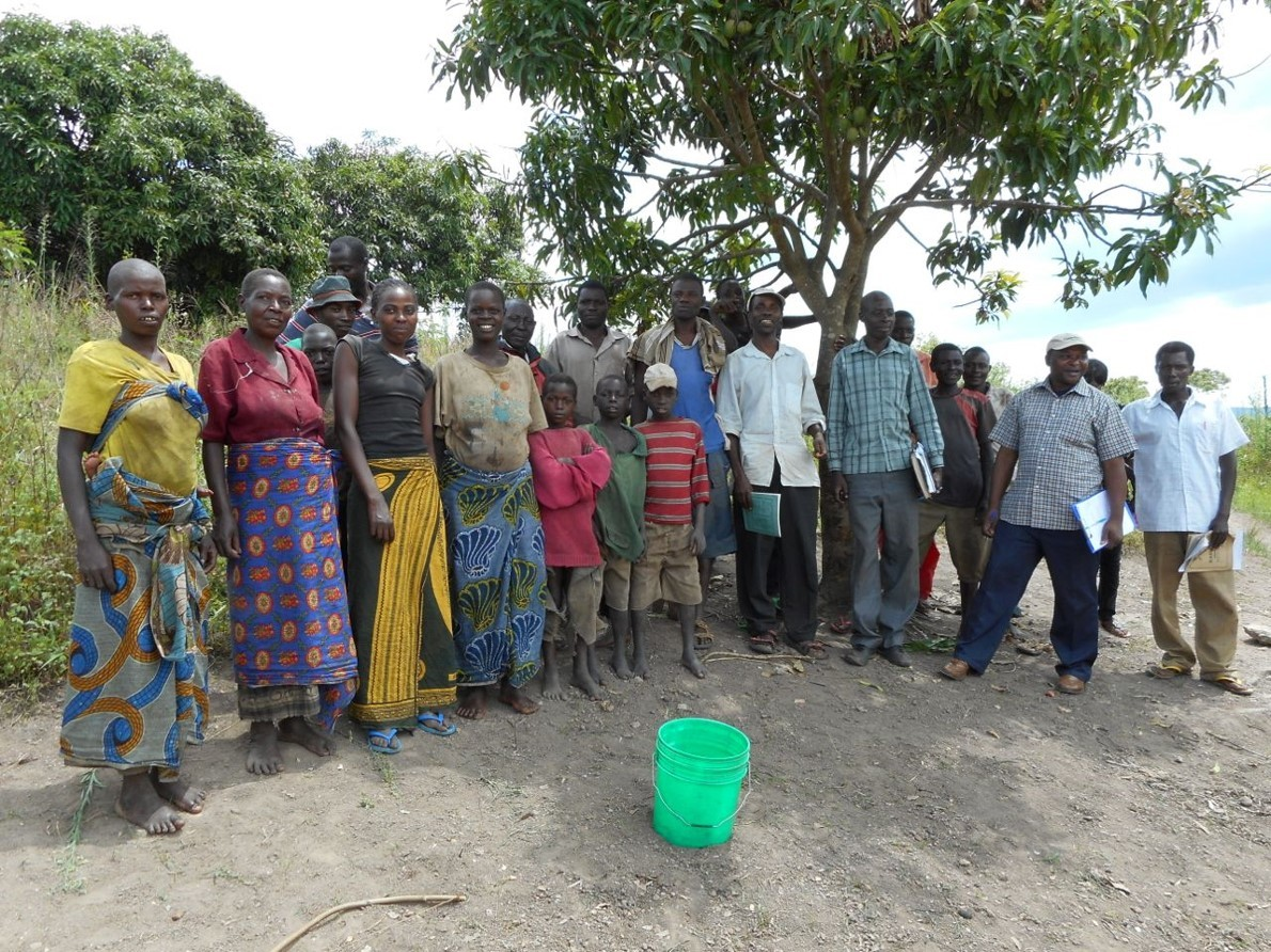 Water committee in north-west Tanzania