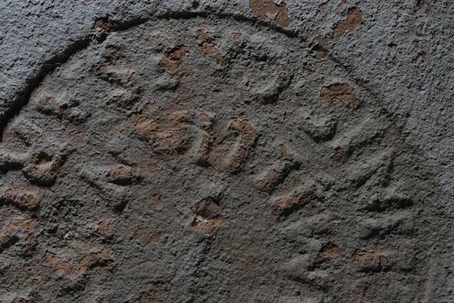 Brick stamp found at Portus