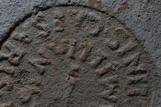 Brick stamp found at Portus