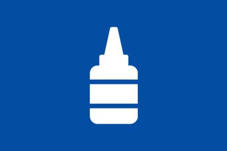 An icon of a glue pot